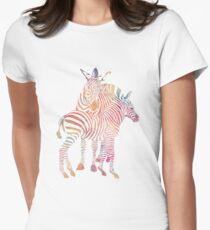 Colourful Zebras T-Shirt