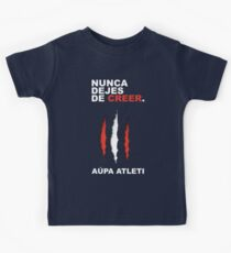 Atleti - Nunca Dejes De Creer Kids Clothes