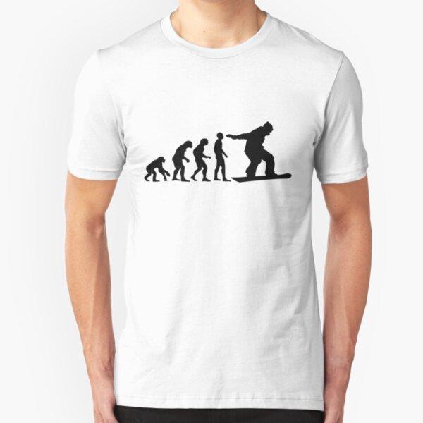 Snowboard Evolution Slim Fit T-Shirt