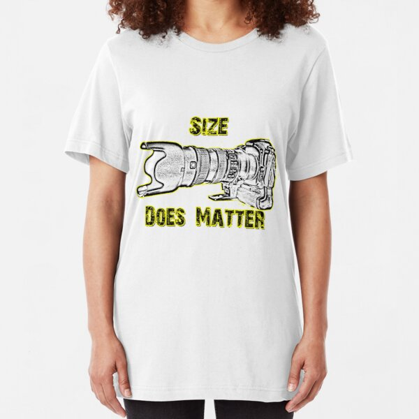 Size Does Matter Slim Fit T-Shirt