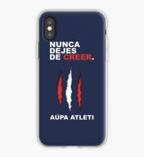 Atleti - Nunca Dejes De Creer iPhone Case