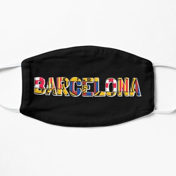 FC Barcelona Flat Mask