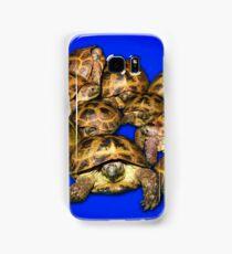 Greek Tortoise Group - Dark Blue Samsung Galaxy Case/Skin