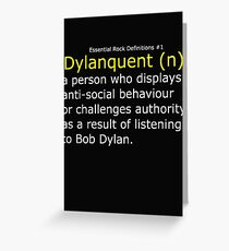 Dylanquent 2 Greeting Card