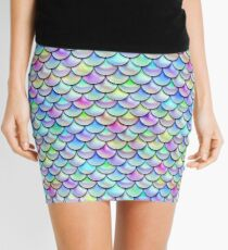 Rainbow Bubble Scales Mini Skirt