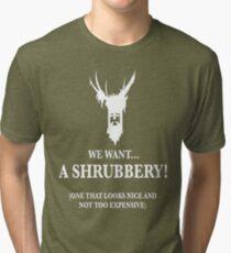 Bring Us A Shrubbery Tri-blend T-Shirt
