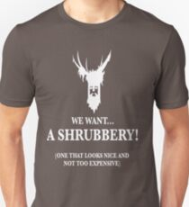 Bring Us A Shrubbery Unisex T-Shirt