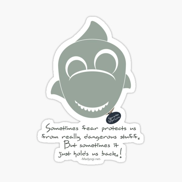 Yogi Sharky Sticker