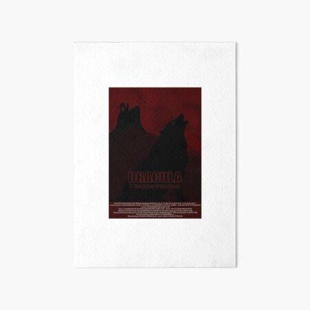 Dracula The Rules of the Beast film poster (1/3) Art Board Print