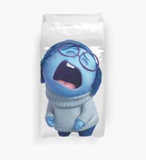 Inside Out Sadness Crying Duvet Cover
