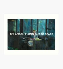 Flung out of space (I)  Art Print