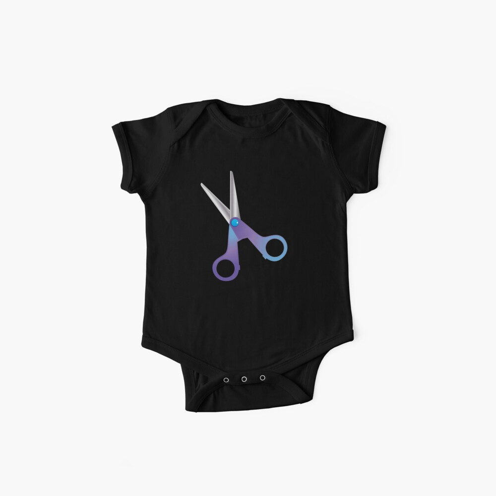 A pair of SCISSORS Baby One-Piece