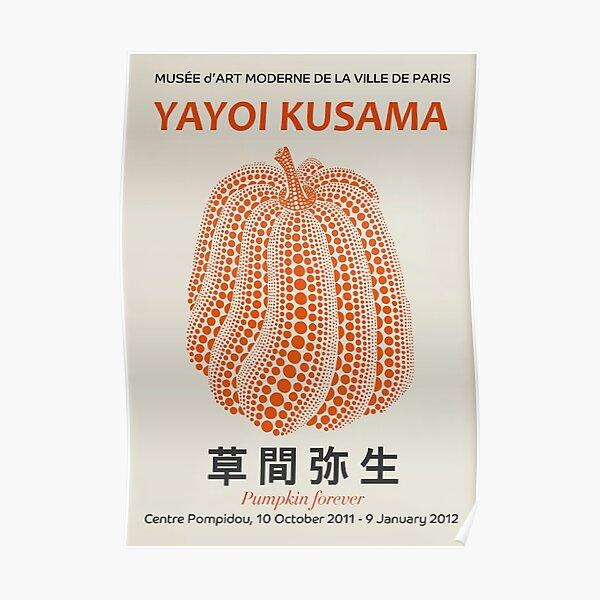 Yayoi Kusama - Calabazas Retro Póster