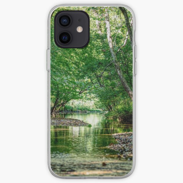 Greenery Water Escape iPhone Soft Case