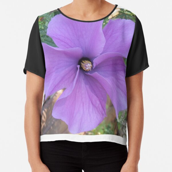 Native hibiscus alyogyne huegeli Chiffon Top