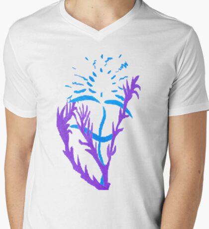 Blue & Purple Flowers T-Shirt