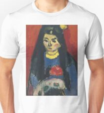 Vintage famous art - Alexei Jawlensky  - Red Blossom T-Shirt