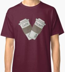 coffee heart Classic T-Shirt