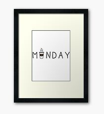 Castle Monday Framed Print