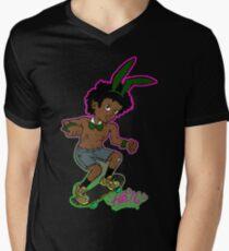 198479401 Super Bambaataa rabbit form V-Neck T-Shirt