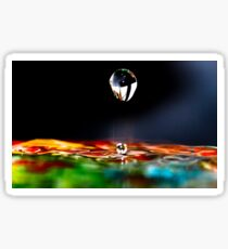 A drip is a drop and a drop is water and water is nature and nature is beautiful. Sticker