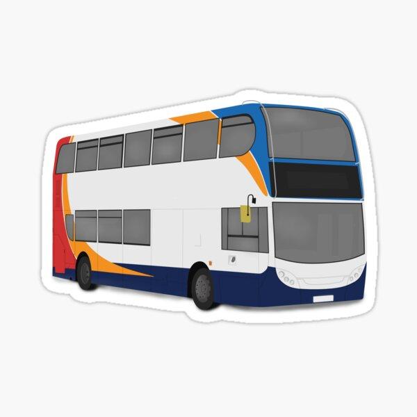 Stagecoach 'beachball' E400 Sticker