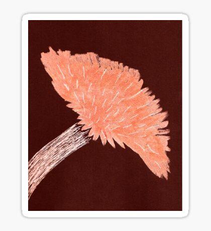 Flower of Orange Sticker