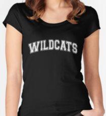 HSM Cats Wildcat Women's Fitted Scoop T-Shirt