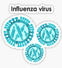 Influenza virus Sticker
