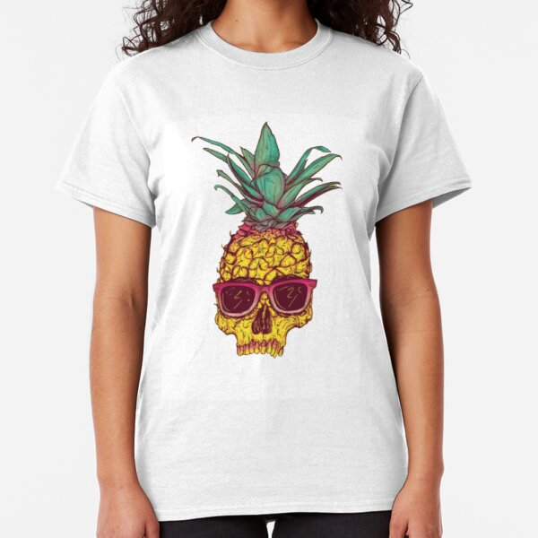 Pineapple Skull Classic T-Shirt