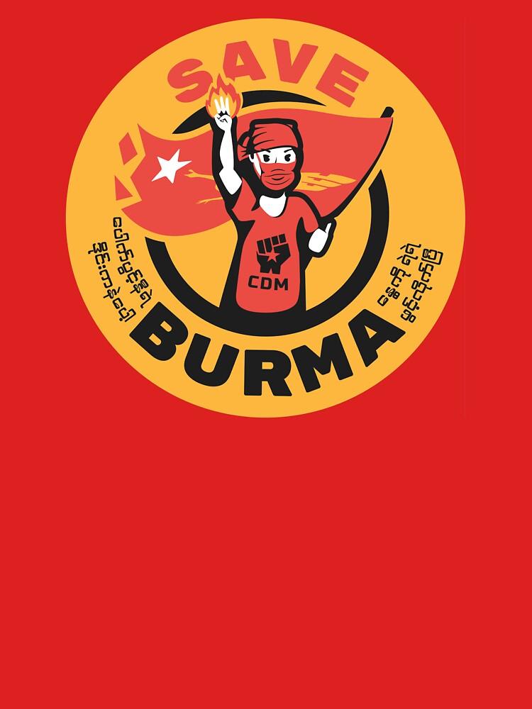 Save Burma! by AlefYodhAlef