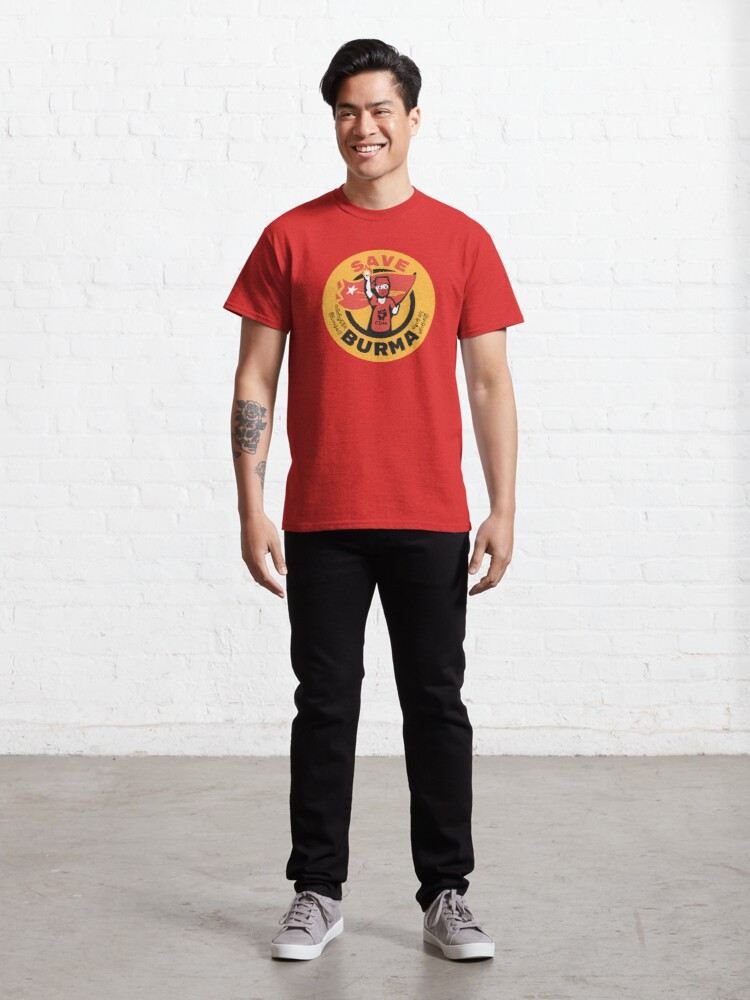 Alternate view of Save Burma! Classic T-Shirt