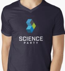 Science Party Australia (Dark) V-Neck T-Shirt