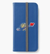LEGO Faded Spaceman iPhone Wallet/Case/Skin