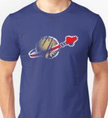 LEGO verblasste Raumfahrer Unisex T-Shirt