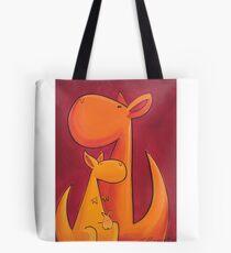 Splatter Mob (Kangaroos) Tote Bag