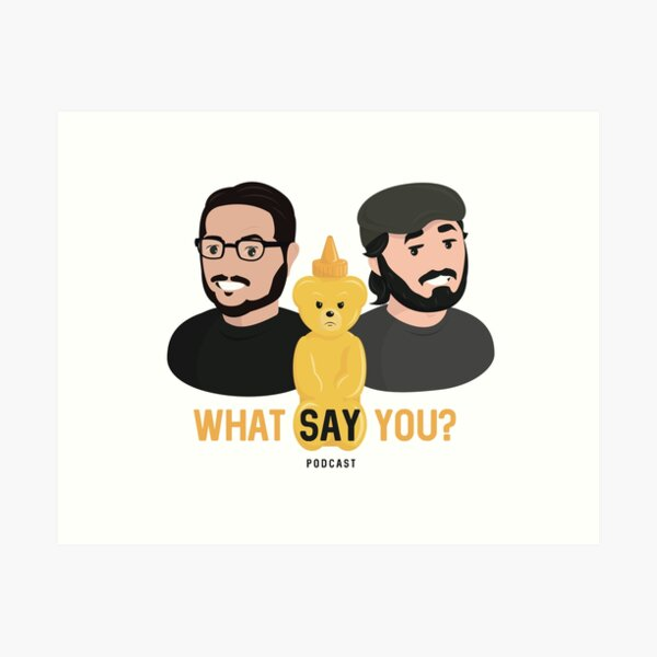 WSY: Q, Sal and Nugget Art Print