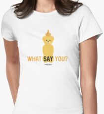 WSY: Nugget Women's Fitted T-Shirt