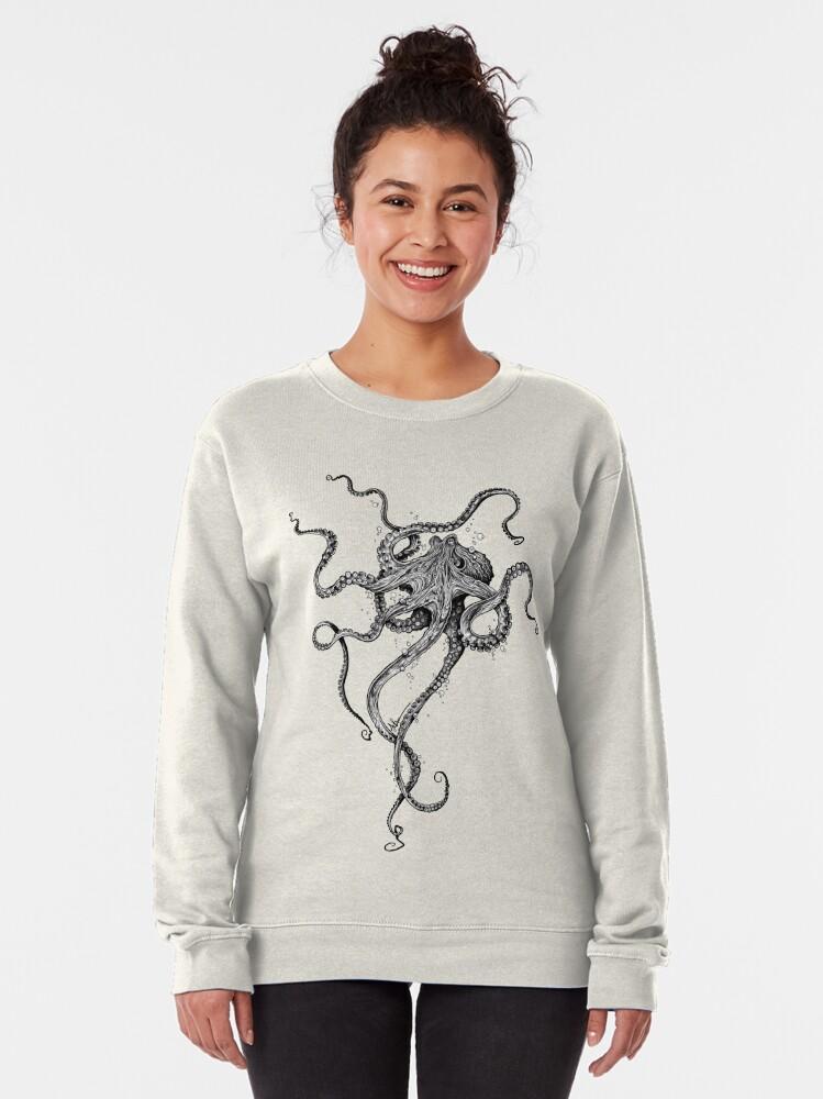 Alternate view of Octopus Pullover Sweatshirt