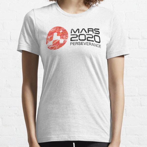 Murray Store NASA Perseverance rover Mars 2020 JPL mission Patch T-Shirt