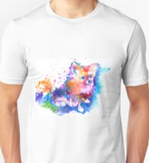 Pop Art Pomeranian Unisex T-Shirt