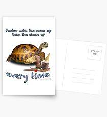 Tortoise with Ice Cream Cone Postcards