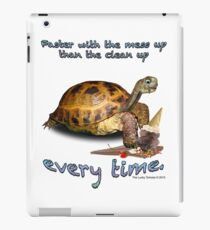 Tortoise with Ice Cream Cone iPad Case/Skin
