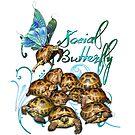 Tortoise Butterflies - Social Butterfly by LuckyTortoise