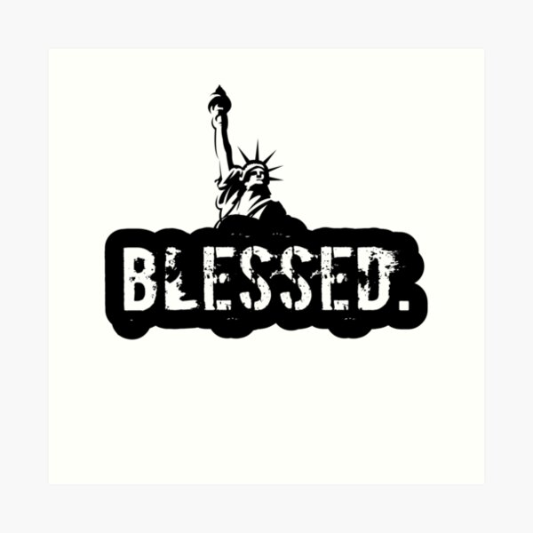 the Blessed USA Art Print