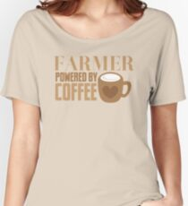 FARMER powered by coffee Women's Relaxed Fit T-Shirt