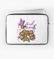 Tortoise Butterflies - Social Butterfly Laptop Sleeve