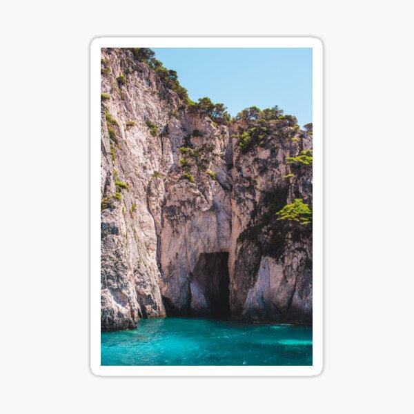 Zante Cliffs Sticker
