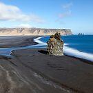 Black Beach at Vik by Caleb Ward