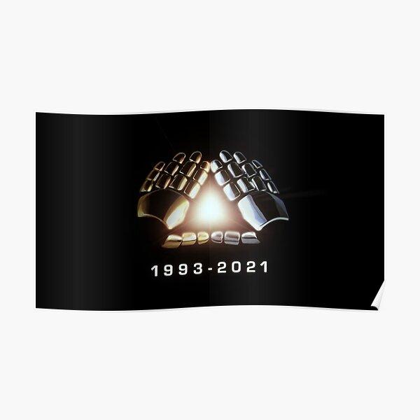 Daft Punk 1993-2021 Poster